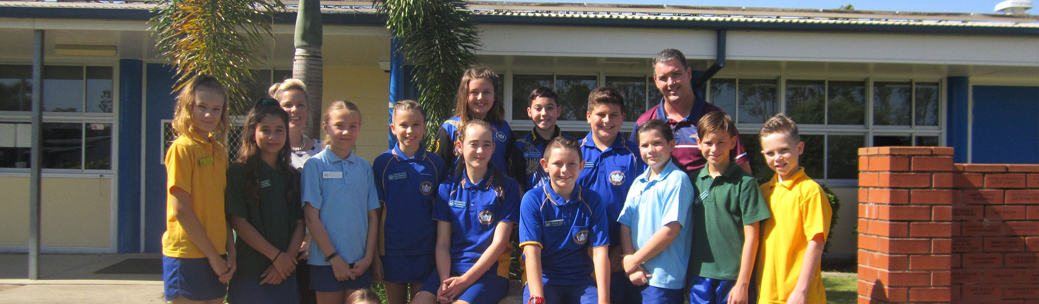 Marian State School students
